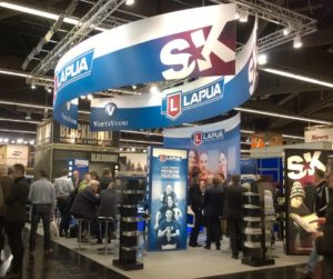 Visit Lapua, Vihtavuori and SK booth 7/511 in IWA 2015