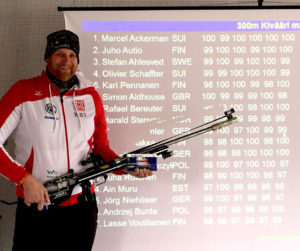 Lapua European Cup 300 m: Marcel Ackerman wins with almost perfect result