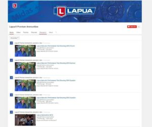 NEW! Inside Lapua video