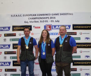 Lapua sponsored European Combined Game Shooting Championships a success for Team Finland