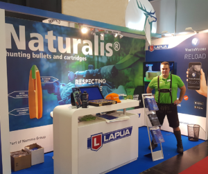 Lapua is at Die Hohe Jagd & Fischerei expo Feb 16 – 19, Hall 10, Stand 0219