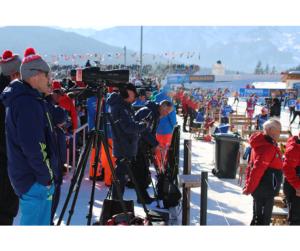 IBU Biathlon World Championships 2017 in Hochfilzen, Austria