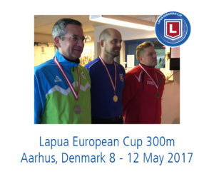 Lapua European Cup 300 m in Aarhus, Denmark 8 – 12th May 2017