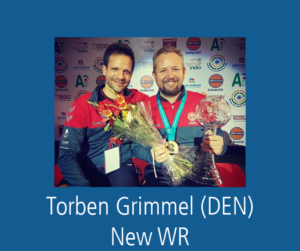 Lapua Sponsored Torben Grimmel (DEN) sets new World Record in ISSF World Cup Final