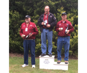 Lapua Team's Wayne Campbell on a roll at the World Benchrest Championships
