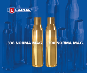 New Lapua products: introducing .300 Norma Mag and .338 Norma Mag brass