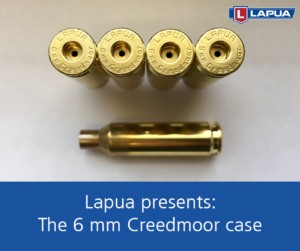 Presenting: the 6 mm Creedmoor case by Lapua