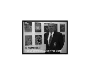 In memoriam: Horst Zimmerbauer 1938-2018