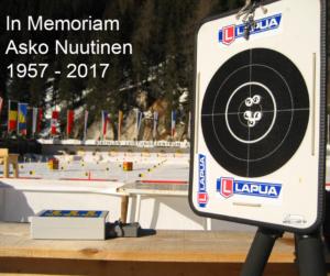 In Memoriam: Asko Nuutinen