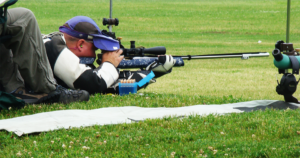 Team Lapua USA's Kevin Nevius set a new NRA National Record
