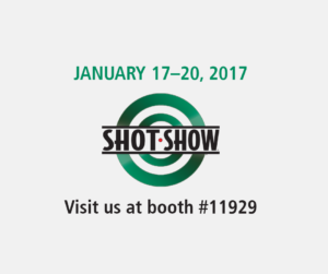Meet us at SHOT Show 2017 in Las Vegas!