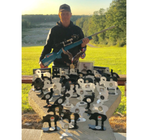 Mullins wins NRA Smallbore Silhouette Championships with Lapua ammunition
