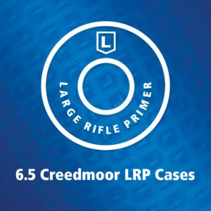 New! 6.5 Creedmoor Large Rifle Primer cartridge case