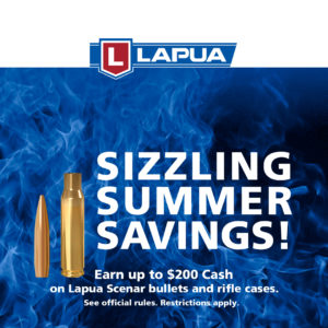 Lapua Launches $200 Consumer Rebate in the U.S.