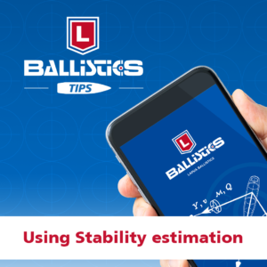 Lapua Ballistics Tips: Stability Estimation