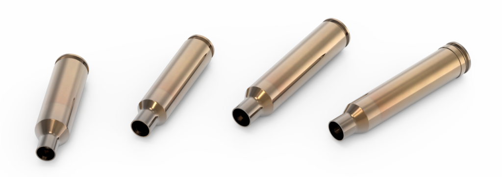 New Lapua brass cartridge cases