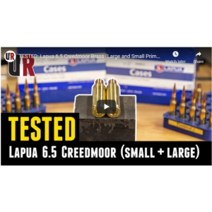 Ultimate Reloader testing Lapua 6.5 Creedmoor cases