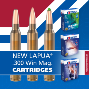 New 300 Winchester Magnum factory-loaded cartridges by Lapua