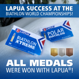 Unbeatable Lapua success at the 2021 Biathlon World Championships