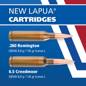 New match grade ammunition for 6.5 Creedmoor and .260 Remington