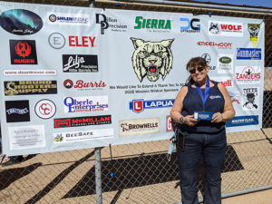Team Lapua's Nancy Tompkins Wins 3rd Consecutive Western Wildcat