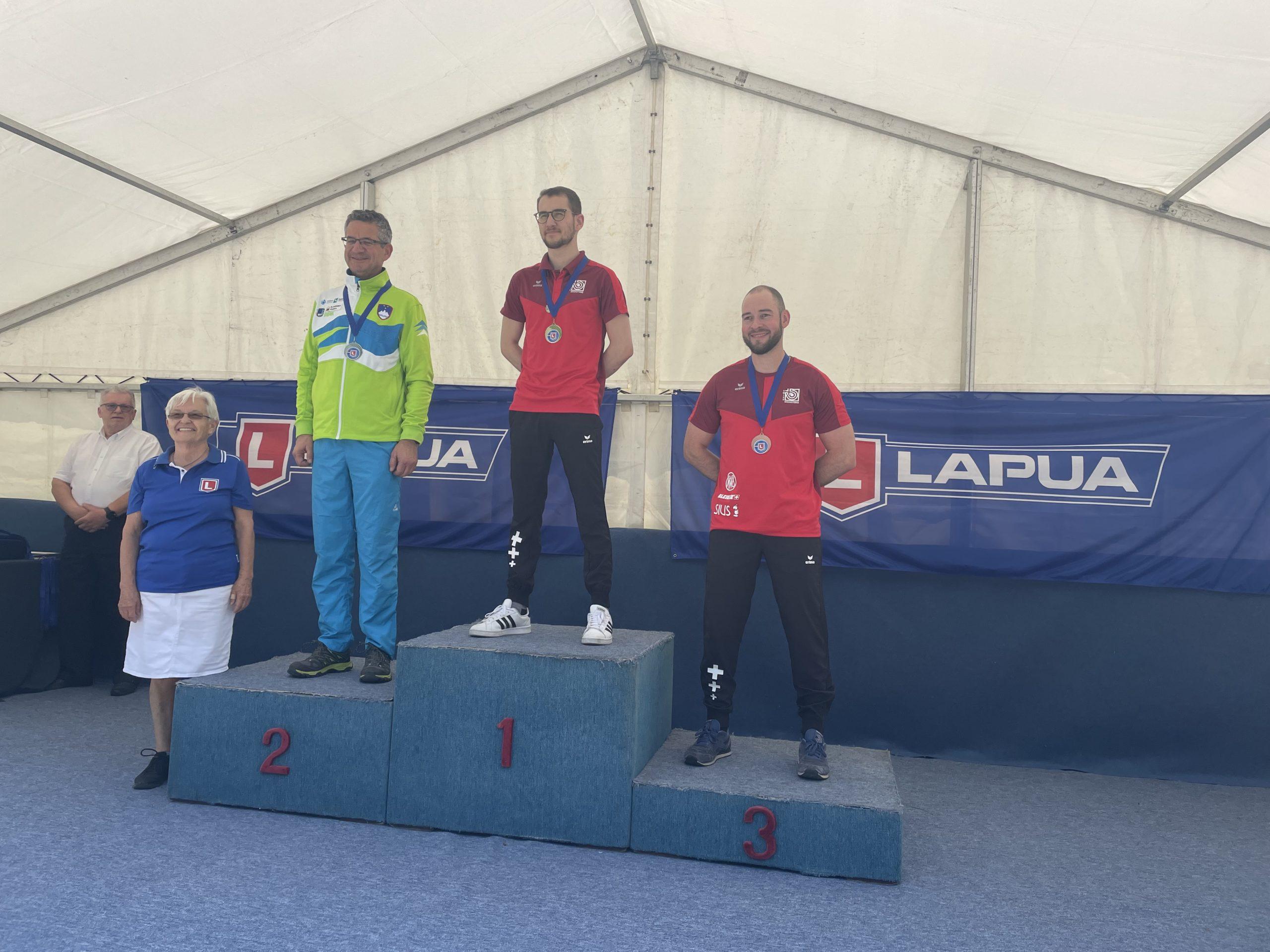 Lapua EC 300 m 21 Zagreb mens prone