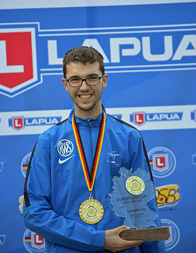 Yann Fridrici Lapua EC 25m CF winner