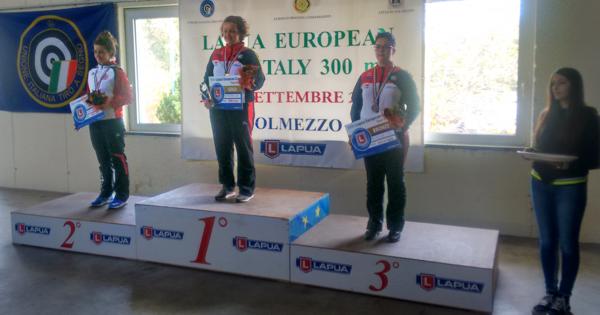 Lapua EC 300 m Final 2017 Italy ladies podium