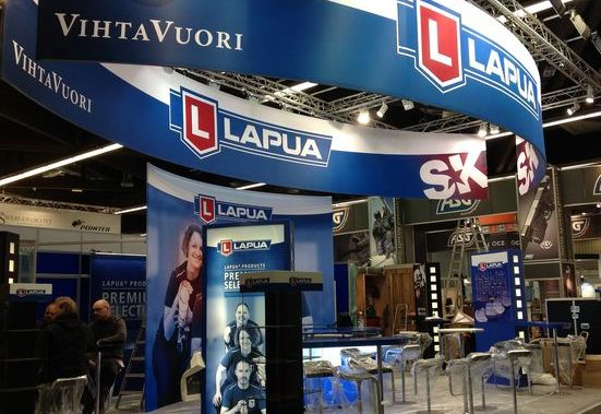 Lapua booth in IWA