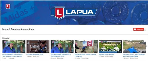Lapua Premium Ammunition YouTube